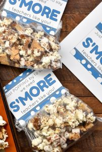 Just popping by to say we need S'MORE teachers like you FREE Teacher Appreciation Printable bag tags. These are the perfect way to say thanks to your favorite teacher.