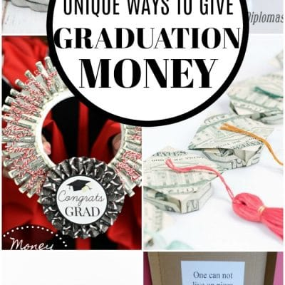 13 Unique Money Graduation Gift Ideas