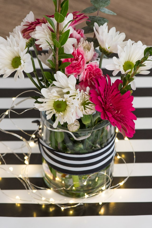 Kate Spade Birthday Party flower design