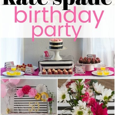 Kate Spade Birthday Party Ideas