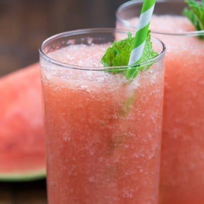 Watermelon Frosé Recipe