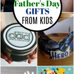 collage of fathers day gifts