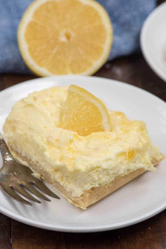 No Bake Lemon Bars Recipe