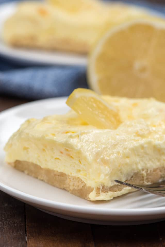 no bake lemon bars