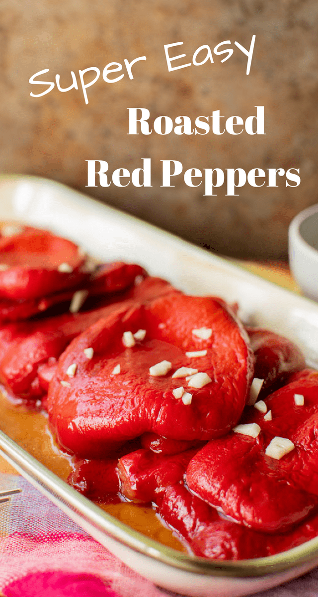 It's easy to make your own homemade roasted red peppers! This simple easy recipe is perfect to make your own homemade version.