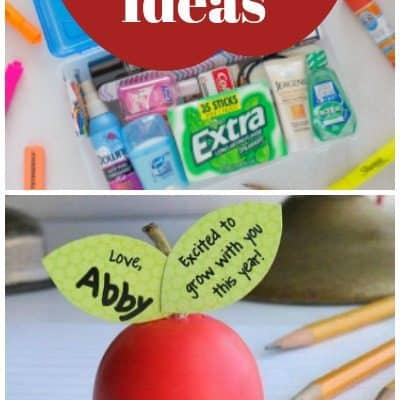 DIY Teacher Gifts they'll actually LOVE