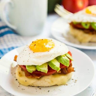 California Breakfast Stack Recipe
