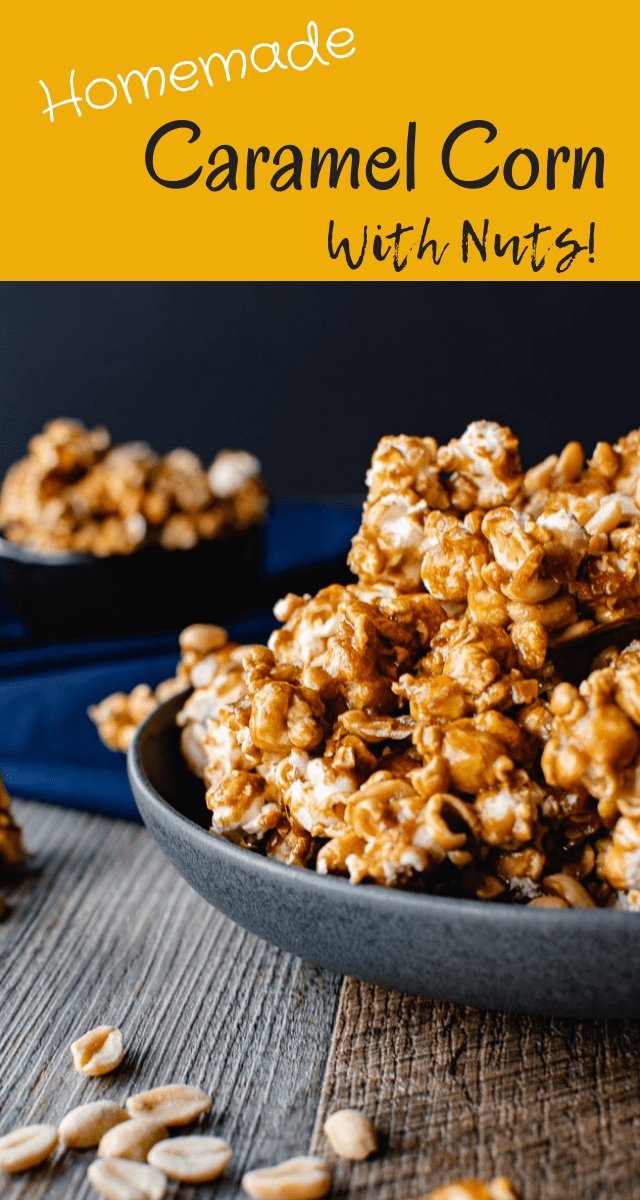 This Homemade Caramel Corn uses easy-to find ingredients and is simple to make. You'll wonder why you've never made it before!If you want the best caramel corn ever, here it is!