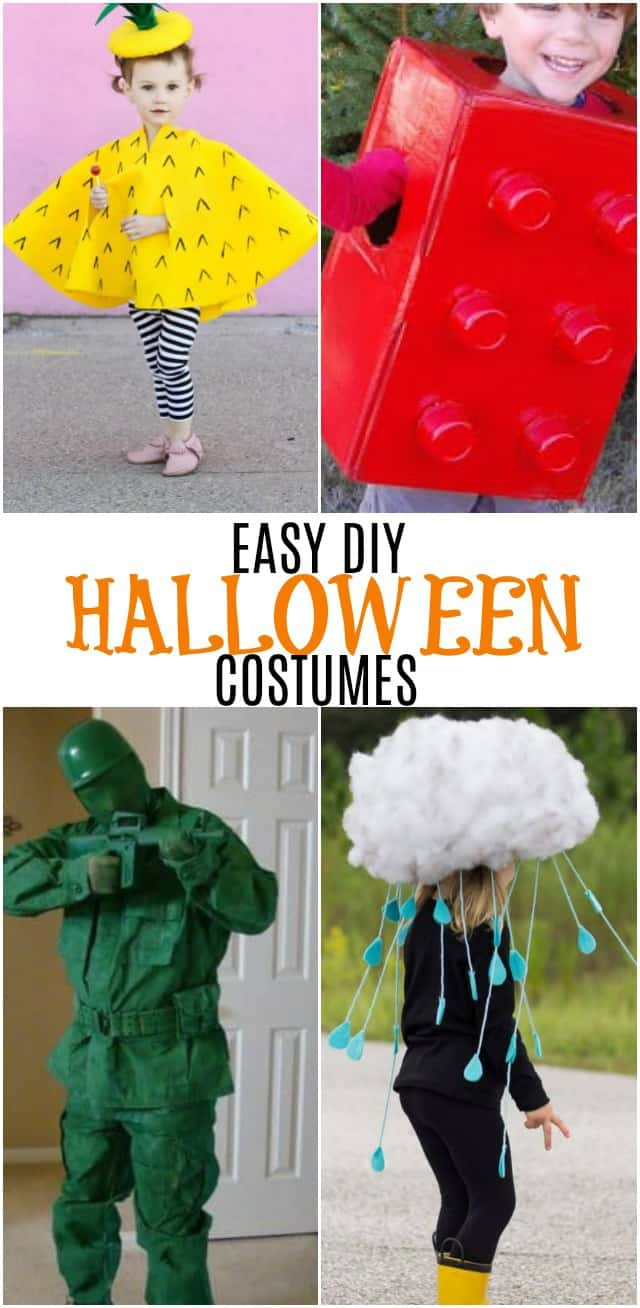 looking for some diy halloween costumes this list of fun cute and easy