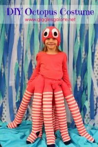 girl dressed like an octopus