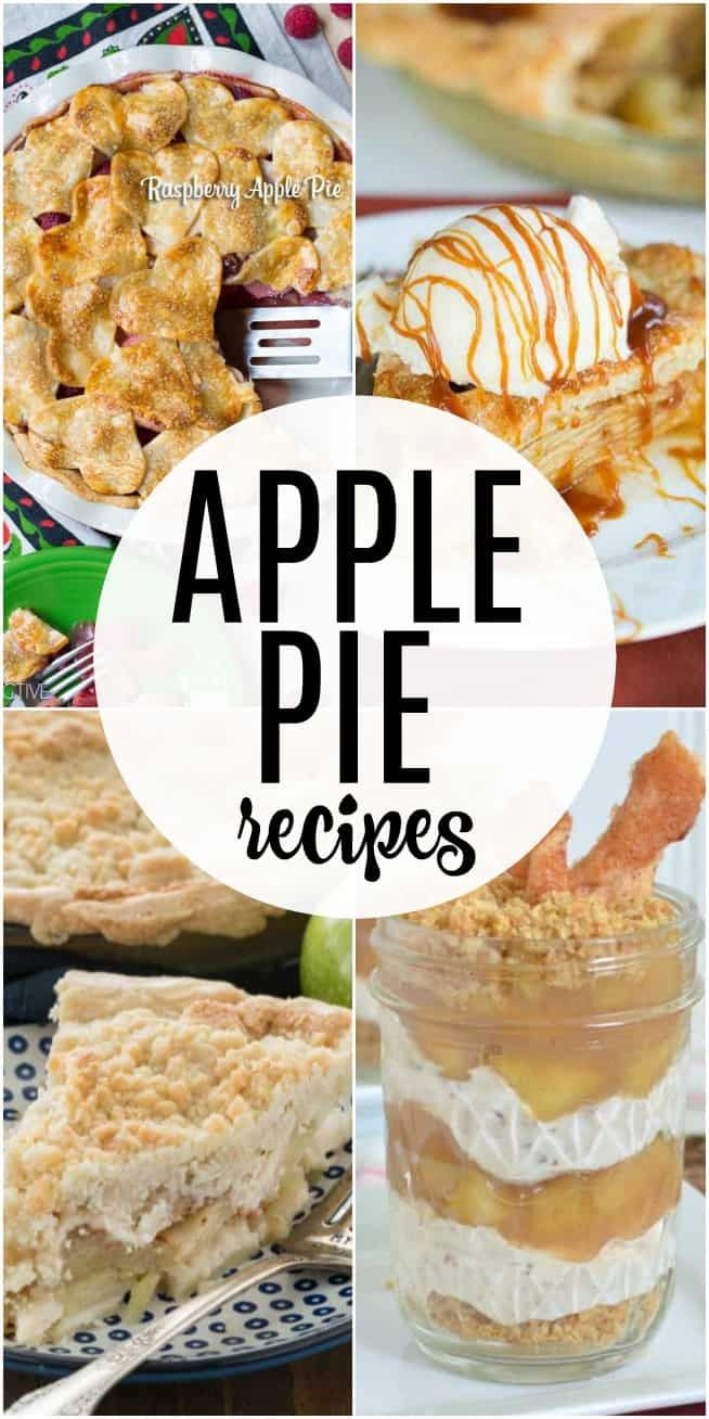 If you're looking for some easy and delicious APPLE PIE recipes, this is the list for you. These apple pie recipes are traditional, fun, and crazy!