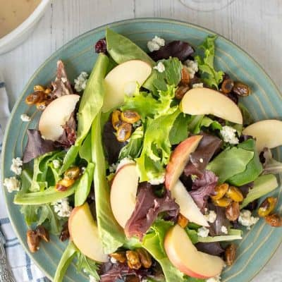 Fall Salad with Maple Vinaigrette