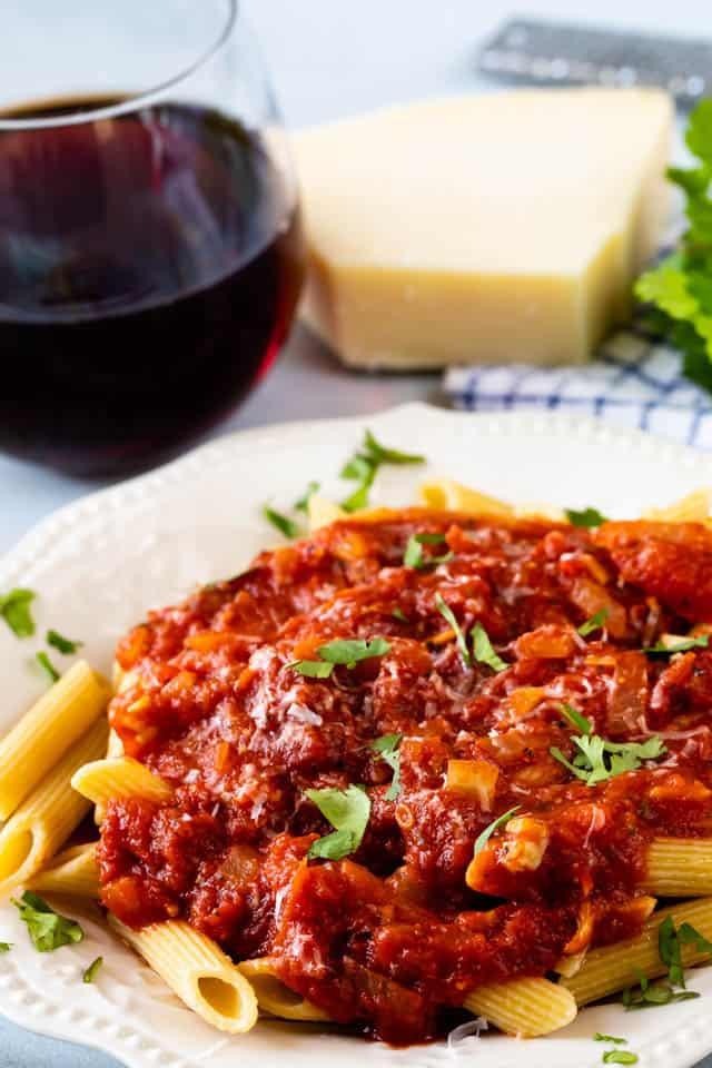 Easy italian pasta sauce